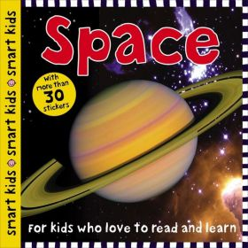 Smart Kids Space: with more than 30 stickers (Paperback)