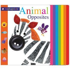 Alphaprints: Animal Opposites (Board Book)