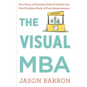 Visual MBA: Two Years of Business School Packed Into One Priceless book  of Pure Awesomeness (Paperback)