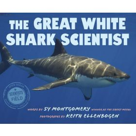 The Great White Shark Scientist: Scientists in the Field Series (Paperback)