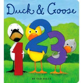 Duck & Goose, 1, 2, 3 (Board Book)