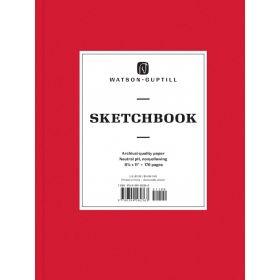Watson-Guptill: Large Sketchbook (Ruby Red)