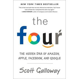 Four: The Hidden DNA of Amazon, Apple, Facebook, and Google, Export Edition (Mass Market)