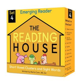 The Reading House Set 4: Short Vowel Clusters and Sight Words (Paperback)