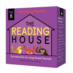 The Reading House Set 6: Introduction to Long Vowel Sounds (Paperback)