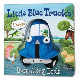Little Blue Truck's Beep-Along Book (Board Book)