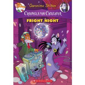 Fright Night: Creepella Von Cacklefur, Book 5 (Paperback)