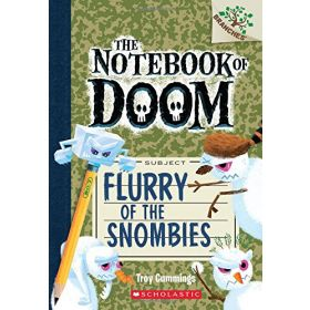Flurry of the Snombies: The Notebook of Doom, Book 7 (Paperback)