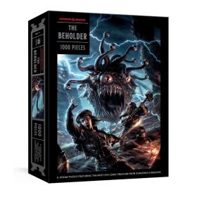 The Beholder Puzzle: A Dungeon & Dragons, Jigsaw Puzzles for Adults