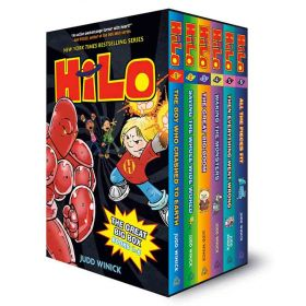 Hilo: The Great Big Box, Books 1-6 (Hardcover)