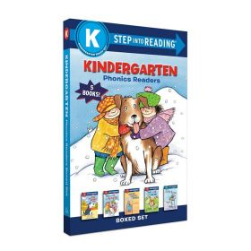 Kindergarten Phonics Readers Boxed Set (Paperback)