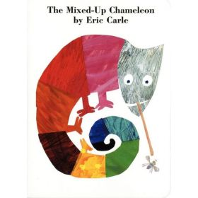 The Mixed-Up Chameleon (Board Book)