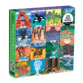Little Park Ranger 500 Piece Family Puzzle