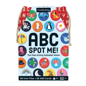 Mudpuppy: ABC Spot Me Game (Cards)