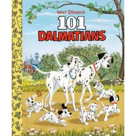 Walt Disney's 101 Dalmatians, Little Golden Book (Board Book)