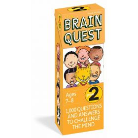 Brain Quest Grade 2 Revised, 4th Edition (Cards)