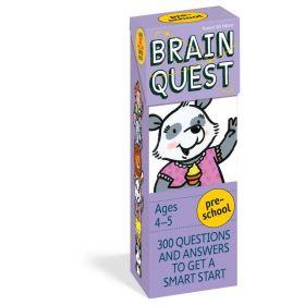 Brain Quest Preschool Q&A (Cards)