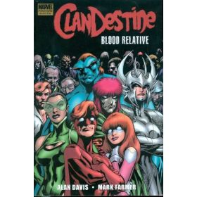 Clandestine: Blood Relative, Marvel Premiere Classic (Hardcover)