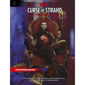 Curse of Strahd: A Dungeons & Dragons Sourcebook (Hardcover)