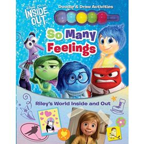 Disney-Pixar Inside Out: So Many Feelings: Riley's World Inside and Out (Hardcover)
