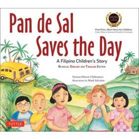 Pan de Sal Saves the Day,  Bilingual English and Tagalog Edition (Paperback)