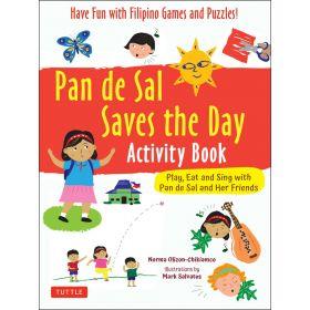 Pan De Sal Saves the Day, Activity Book (Paperback)