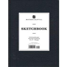 Watson-Guptill: Large Sketchbook (Kivar, Black)