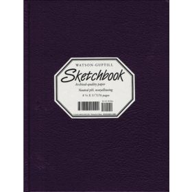 Watson-Guptill: Large Sketchbook (Kivar, Blackberry)