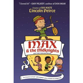 Max And The Midknights, Signed Copy (Hardcover)