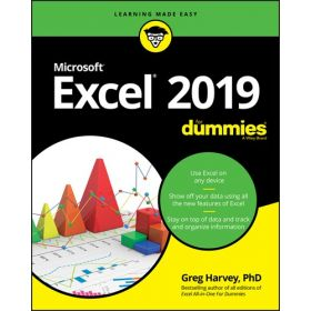 Excel 2019 For Dummies (Paperback)