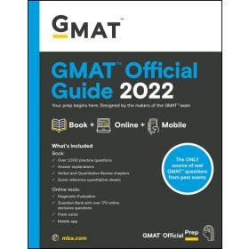 GMAT Official Guide 2022: Book + Online Question Bank (Paperback)