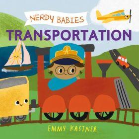 Nerdy Babies: Transportation (Board Book)