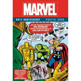 Marvel 80th Anniversary Poster Book (Paperback)