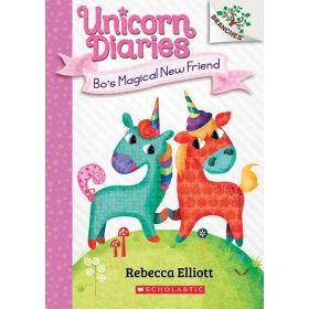 Bo's Magical New Friend: A Branches Book, Unicorn Diaries Book 1 (Paperback)