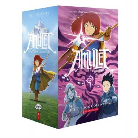 Amulet Book 1-8, Boxed Set (Paperback)