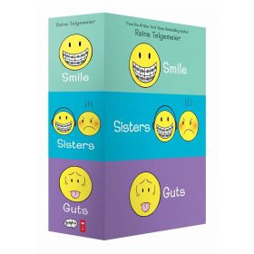 Smile, Sisters, and Guts: Box Set (Paperback)