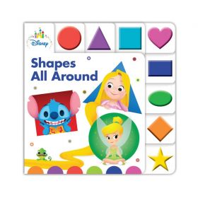 Disney Baby Shapes All Around (Board Book)