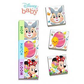 Disney Baby Hop, Hatch, Bloom (Board Book)
