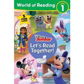 World of Reading: Disney Junior Let's Read Together!, Level 1 (Paperback)