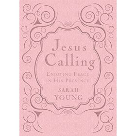 Jesus Calling Deluxe Edition: Enjoying Peace in His Presence, Pink (Imitation Leather)