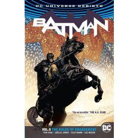 Batman Vol. 5: Rules of Engagement, DC Universe Rebirth (Paperback)