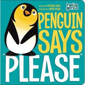 "Penguin Says ""Please"" (Board Book)"