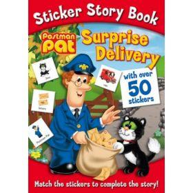 Postman Pat Surprise Delivery Sticker Book (Paperback)