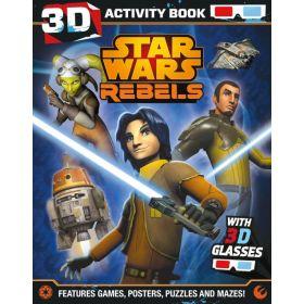Star Wars Rebels 3D Activity Book (Paperback)