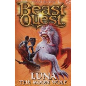 Luna the Moon Wolf: Beast Quest Series 4, Book 4 (Paperback)