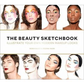 Beauty Sketchbook: Illustrate Your Own Modern Makeup Looks (Paperback)