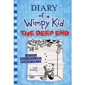 The Deep End: Diary of a Wimpy Kid, Book 15 (Hardcover)