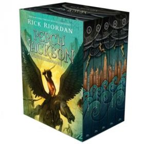 Percy Jackson and the Olympians Boxed Set (Hardcover)