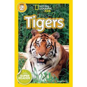 National Geographic Kids Readers: Tiger, Level 2 (Paperback)