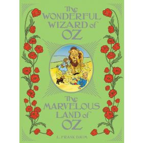 The Wonderful Wizard of Oz / The Marvelous Land of Oz, Barnes & Noble Leatherbound Classics (Leather-Bound)